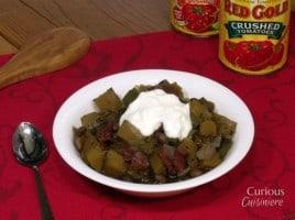 Black Bean and Pumpkin Chili from Curious Cuisiniere