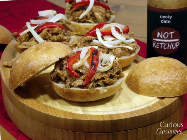 Smoky Date Pulled Pork Sliders with @NotKetchup #10DaysofTaillgate
