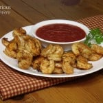 Grilled Shrimp with Bloody Mary Dip