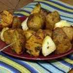 Grilled Parsley Potatoes