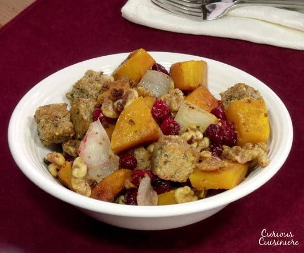Fall Squash Panzanella (Bread and Butternut Squash Salad)