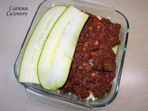 Italian Sausage Zucchini Lasagna from Curious Cuisiniere