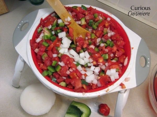 Basic Tomato Salsa For Canning