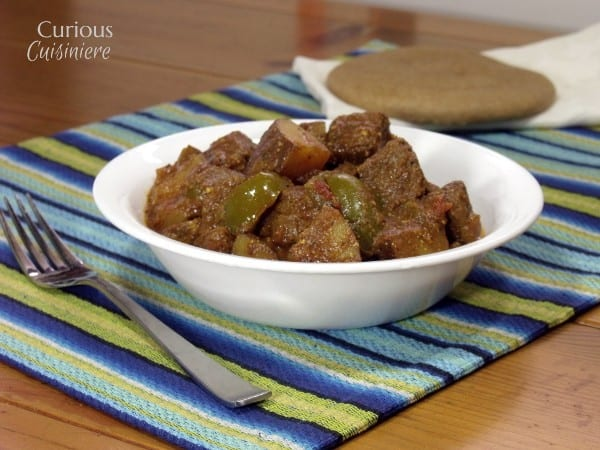 Slow Cooker Beef Madras Curry with Vegetables