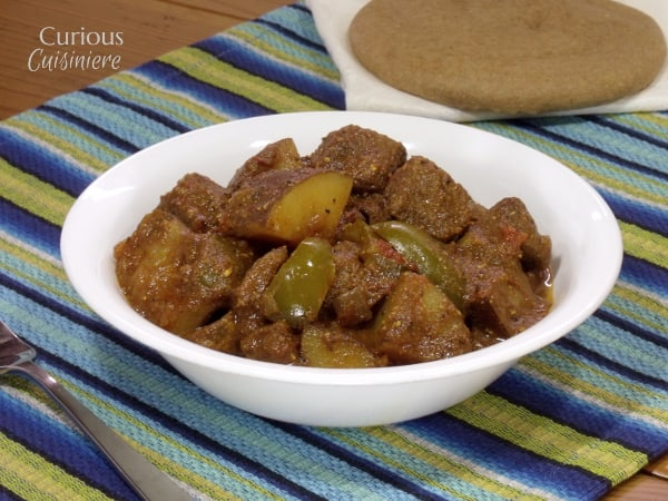 Madras Beef Curry with Vegetables from Curious Cuisiniere #SundaySupper #CrockPot