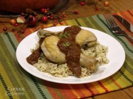 Pumpkin Mole from Curious Cuisiniere #PumpkinWeek
