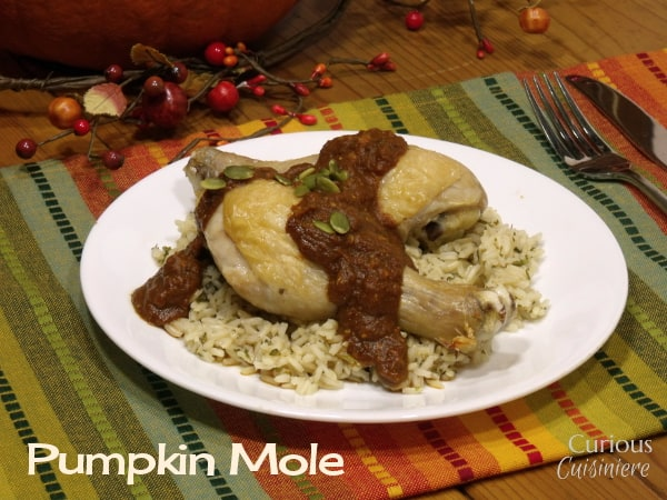 Pumpkin Mole from Curious Cuisiniere