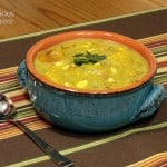 Healthy Pumpkin and Corn Chowder