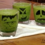 Frankenstein and Friends Green Halloween Smoothie