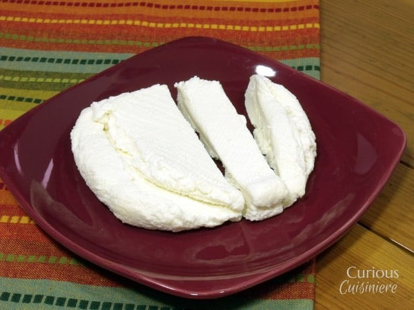 Homemade Paneer Cheese with Curious Cuisiniere