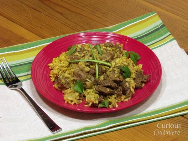 Lamb Biryani from Curious Cuisiniere
