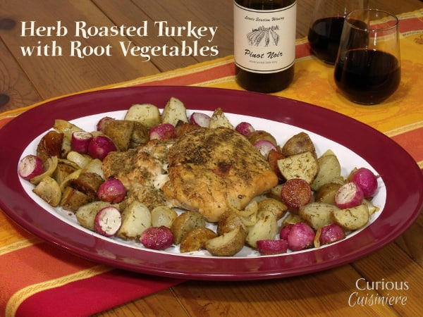 This flavorful Herb Roasted Turkey Breast is perfect for a small-scale ...