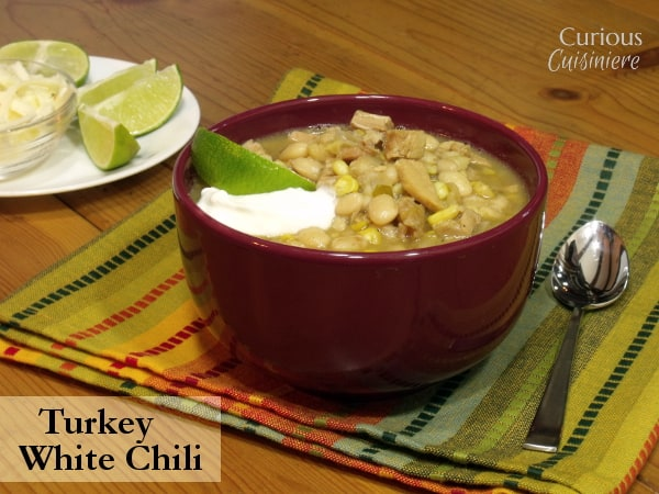 Leftover Turkey Chili With White Beans Curious Cuisiniere