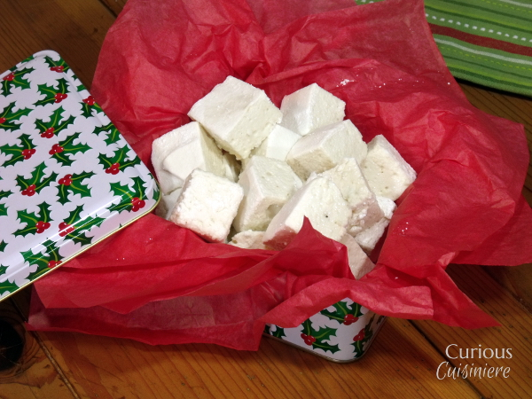 Homemade Marshmallows from Curious Cuisiniere #SundaySupper