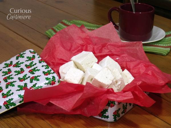 Homemade Marshmallows from Curious Cuisiniere #SundaySupper