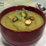 Roasted Parsnip Apple Soup