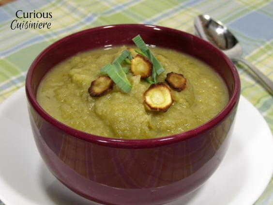 Roasted Parsnip Apple Soup