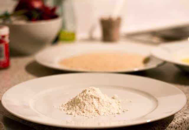 Wheat Flour On A Plate