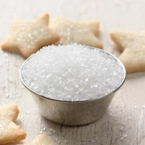 Different types of sugar - Image from http://www.kingarthurflour.com/shop/items/sparkling-white-sugar-1-lb