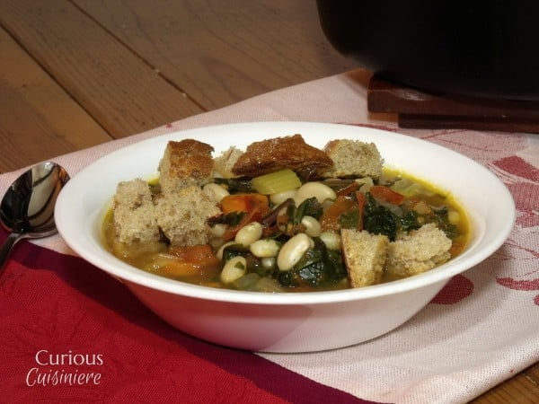 Tuscan Ribollita (Vegetable and Bean Stew) and All About Greens