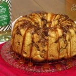 Spiced Apple Monkey Bread with White Wine Caramel
