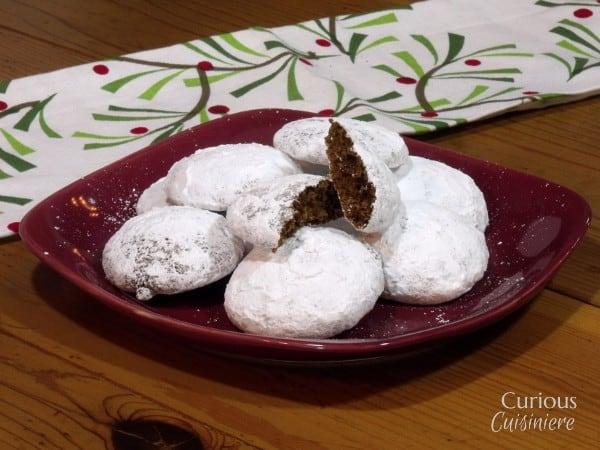 Pfeffernüsse (German Spice Cookies) #fbcookieswap