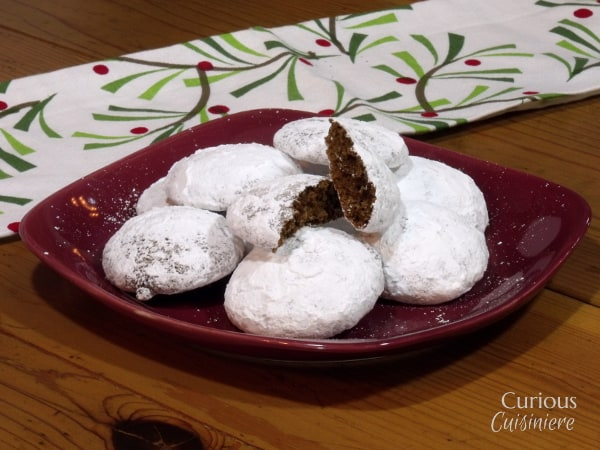 Pfeffernüsse from Curious Cuisiniere #fbcookieswap #holidaybaking
