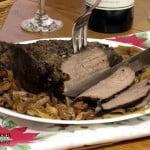 Caramelized Mushroom Roast {Crock Pot}