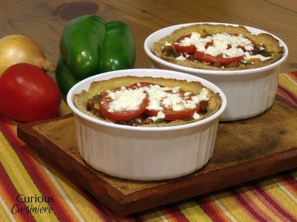 Individual Enchilada Pies from Curious Cuisiniere