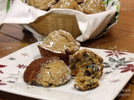 Mincemeat Muffins from Curious Cuisiniere #holidaybaking #brunch