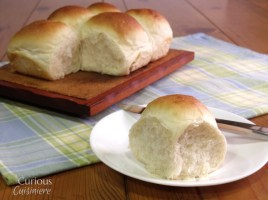 Fluffy Dinner Rolls from Curious Cuisiniere