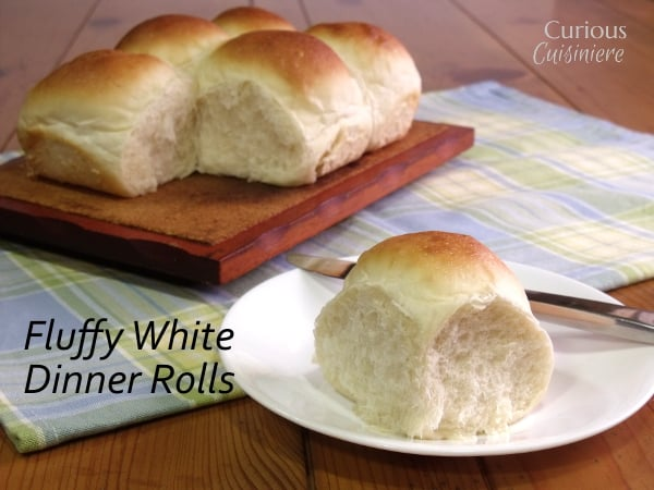 Fluffy White Dinner Rolls With A Bread Machine Option Curious