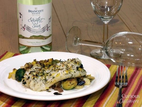 With all the flavor of lemon and thyme, this easy to prepare grouper recipe tastes indulgent, while fitting into your healthy resolutions. | www.CuriousCuisiniere.com