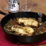 Chicken Cacciatore with Washington Merlot Wine Pairing