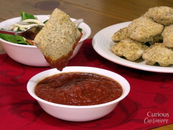 Oven Toasted Ravioli from Curious Cuisiniere