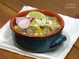 Quick Pozole Blanco from Curious Cuiisiniere