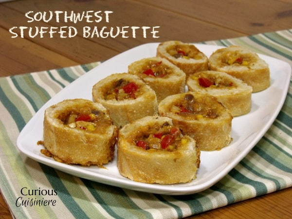 Southwest Stuffed Baguette from Curious Cuisiniere