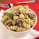 Herby Mushroom Pasta Salad
