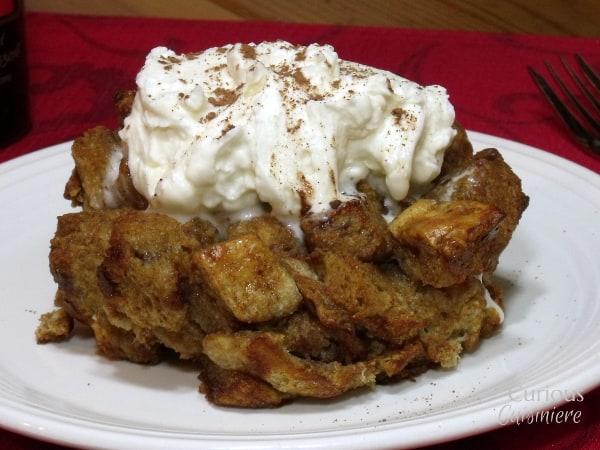 Tiramisu Bread Pudding from Curious Cuisiniere