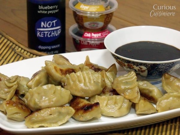 Pork Potstickers from Curious Cuisiniere