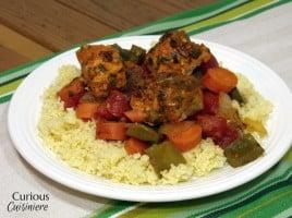 Moroccan Salmon Tajine from Curious Cuisiniere #SundaySupper