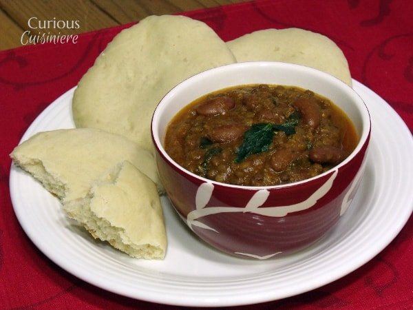 Dal Makhani (Creamy Kidney Bean and Lentil Stew) from Curious Cuisiniere