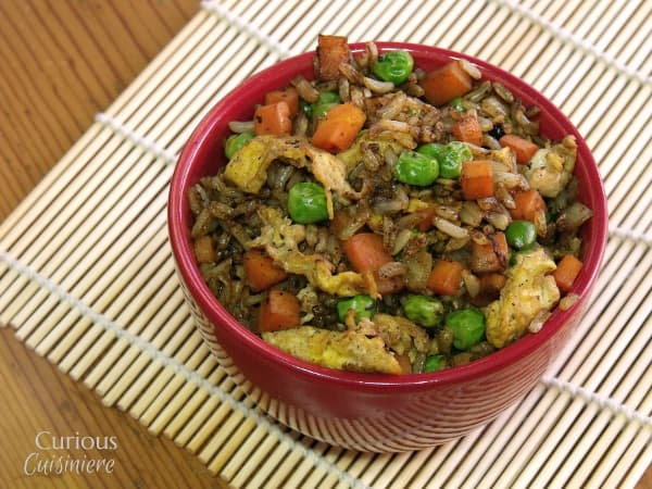 Vegetable Fried Rice from Curious Cuisiniere
