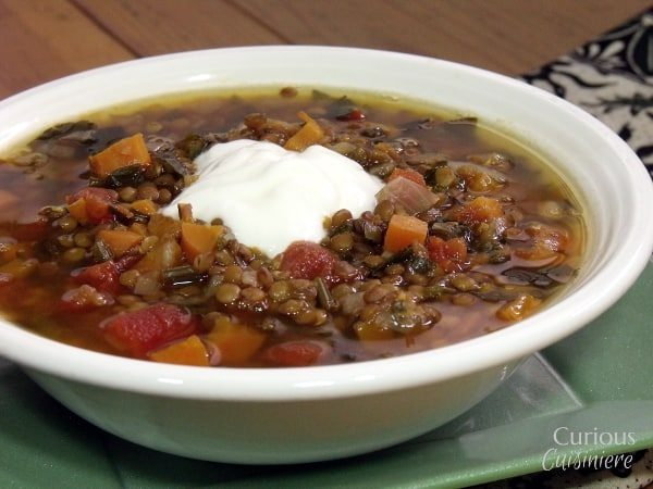 Fakes Soupa (Greek Lentil Soup)