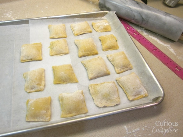 Homemade Ravioli with Curious Cuisiniere
