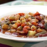 Chunky Crock Pot Minestrone Soup