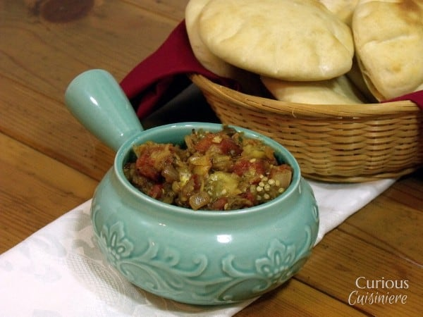 Baingan Bharta (Indian Curried Eggplant Stew) from Curious Cuisiniere