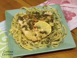 Chicken Piccata from Curious Cuisiniere