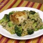 Chicken Rice Casserole #SundaySupper