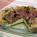Quiche Florentine (Spinach Quiche)